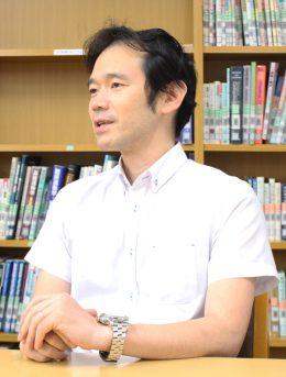 九州中央リハビリテーション学院 理学療法学科 専任教員 米ヶ田宜久氏