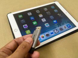 iPadではUSBメモリが使えない