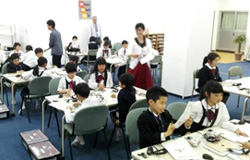 「HiRo(2)Ba」の授業風景
