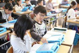先行導入校での授業風景