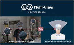 多視点VR同時配信システム「GuruVR Multi-View」(イメージ画像)