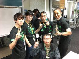出場者:前列、宇留賀さん、後列左から 西澤さん、林田さん、榎本さん、市川さん