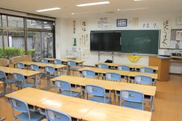 研修センターの教室
