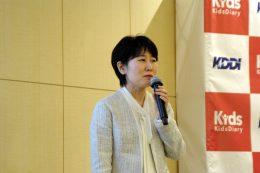 保育ICTの構想を語る宮本氏