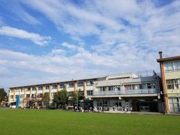 前原小学校(松田氏提供)