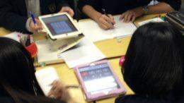 電卓アプリが大活躍した数学の公開授業
